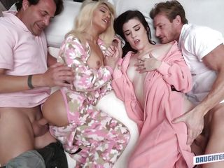 Порно с другой пока жена спит